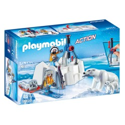 9056-Rangers Polar with bears-Playmobil