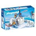 9056 rangers Polar bears - Playmobil