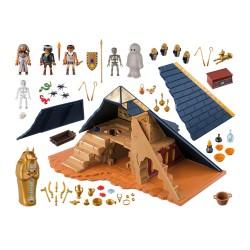 5386 pyramide égyptienne du Pharaon - Playmobil