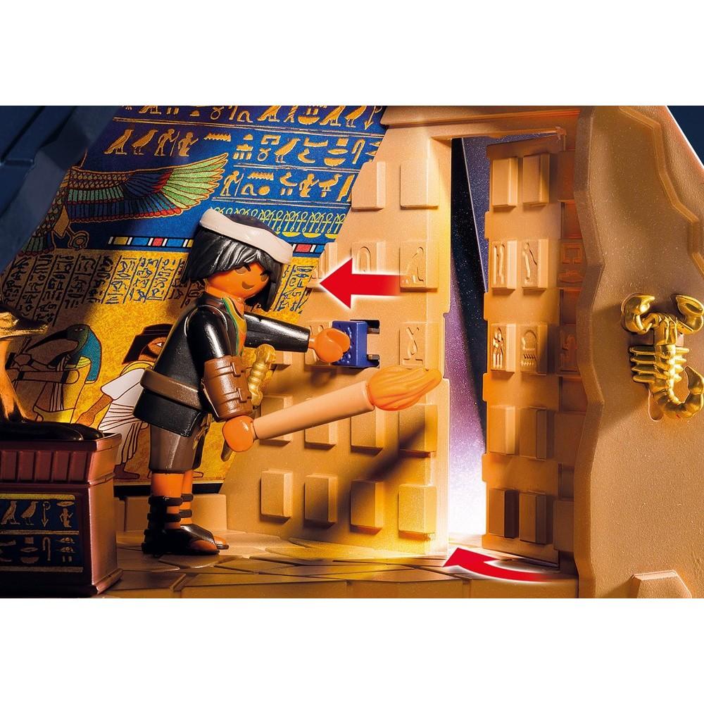 5386 egyptian pyramid of the pharaoh playmobil playmobileros tienda de playmobil nuevo y. Black Bedroom Furniture Sets. Home Design Ideas