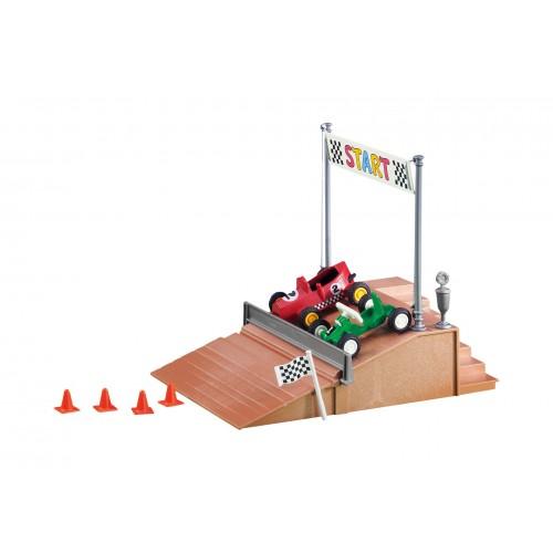 6347 - Pódio Salida Vehículos Carrera - Playmobil