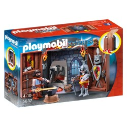 5637 Briefcase Herrero of the Knights - Playmobil