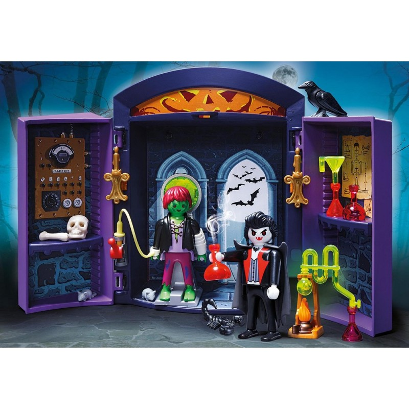 5638 Briefcase Castle monster and Dracula - Playmobil ...