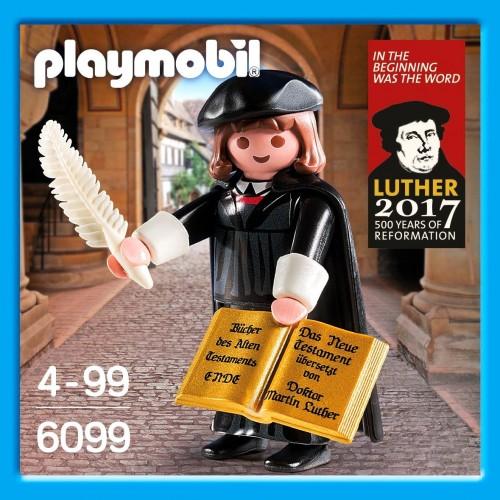 6099 - Marthin Luter - riforma Edition 500 anni - Playmobil