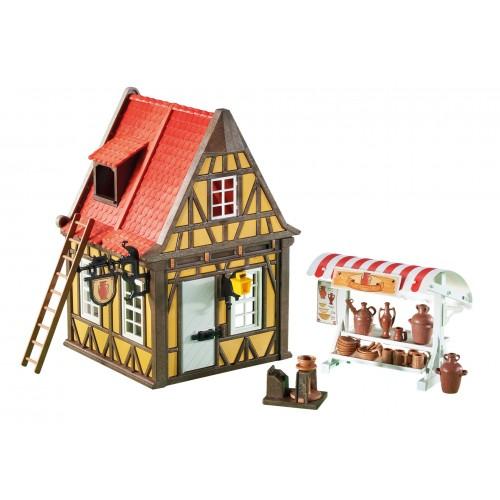 Laboratorio di ceramica Casa 6524 - Playmobil