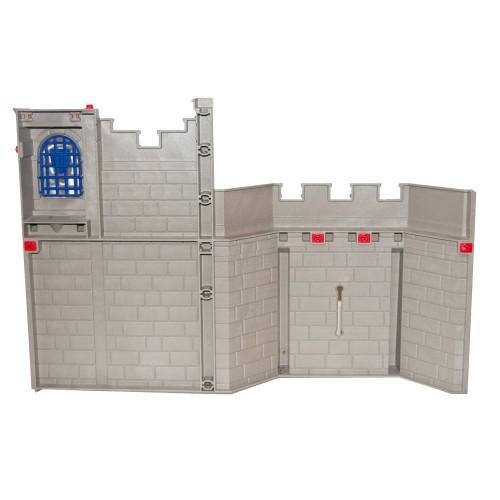Parete del castello medioevale con finestra - system X - Playmobil