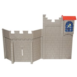 Wall of Medieval castle with window - system X - Playmobil