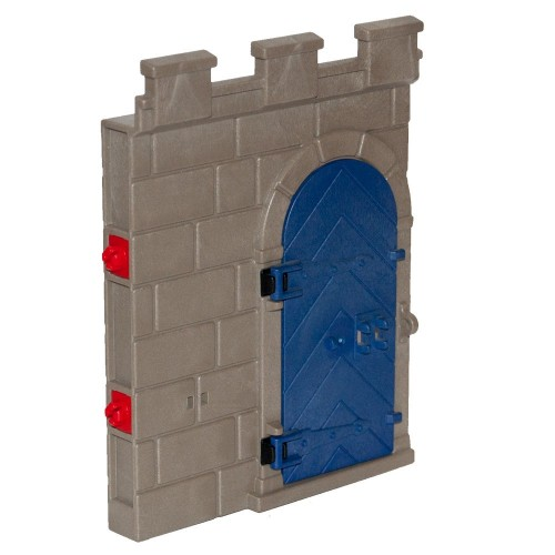Wall with door - 3223370 - Medieval Castle - Playmobil