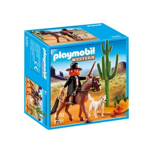 5251 sceriffo Marschall - Playmobil