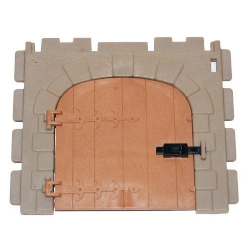 Parete con porta - 30 07 680 - castello medievale - Steck Playmobil