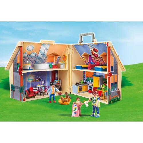 5167 format cartable - maison de poupée Playmobil
