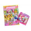 80585 rivista Playmobil girl (versione Germania) con il regalo di figura
