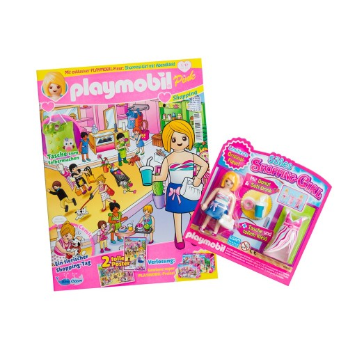 80585 rivista Playmobil girl (versione Germania) con il regalo di figura