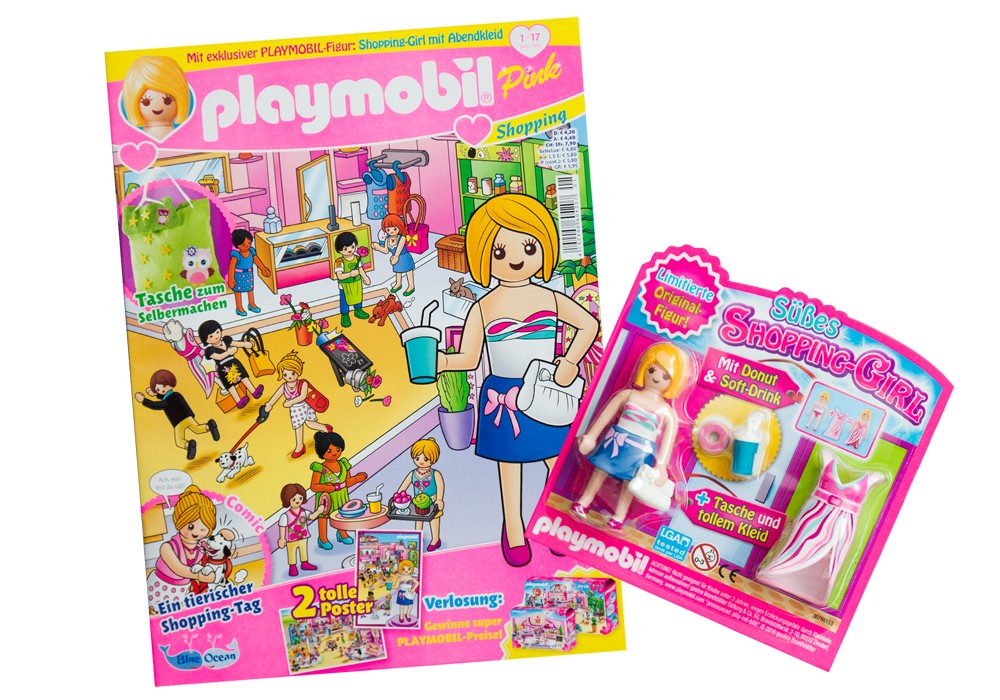 80585 magazine playmobil girl germany version with figure gift playmobileros tienda de playmobil nuevo y ocasin - Play Mobile Fille