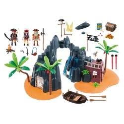 6679 - Piratas Isla del Tesoro - Playmobil