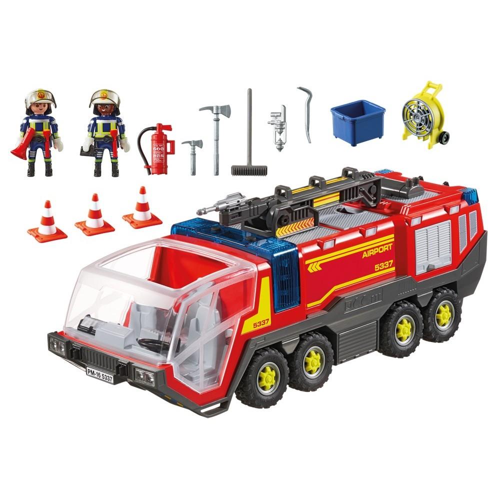 5337 feux et sir ne playmobil camion de pompier - Playmobil de pompier ...