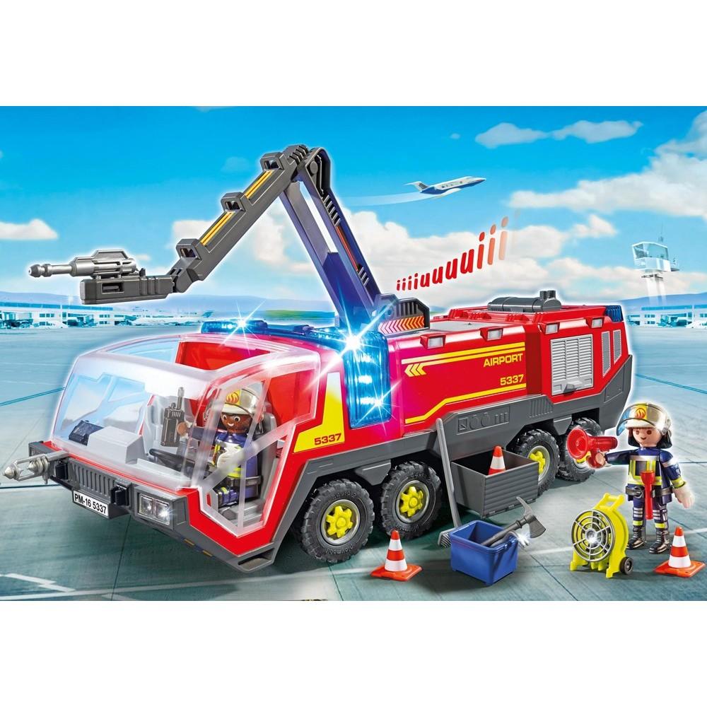 5337 feux et sir ne playmobil camion de pompier a roport playmobileros tienda de - Playmobil camion ...