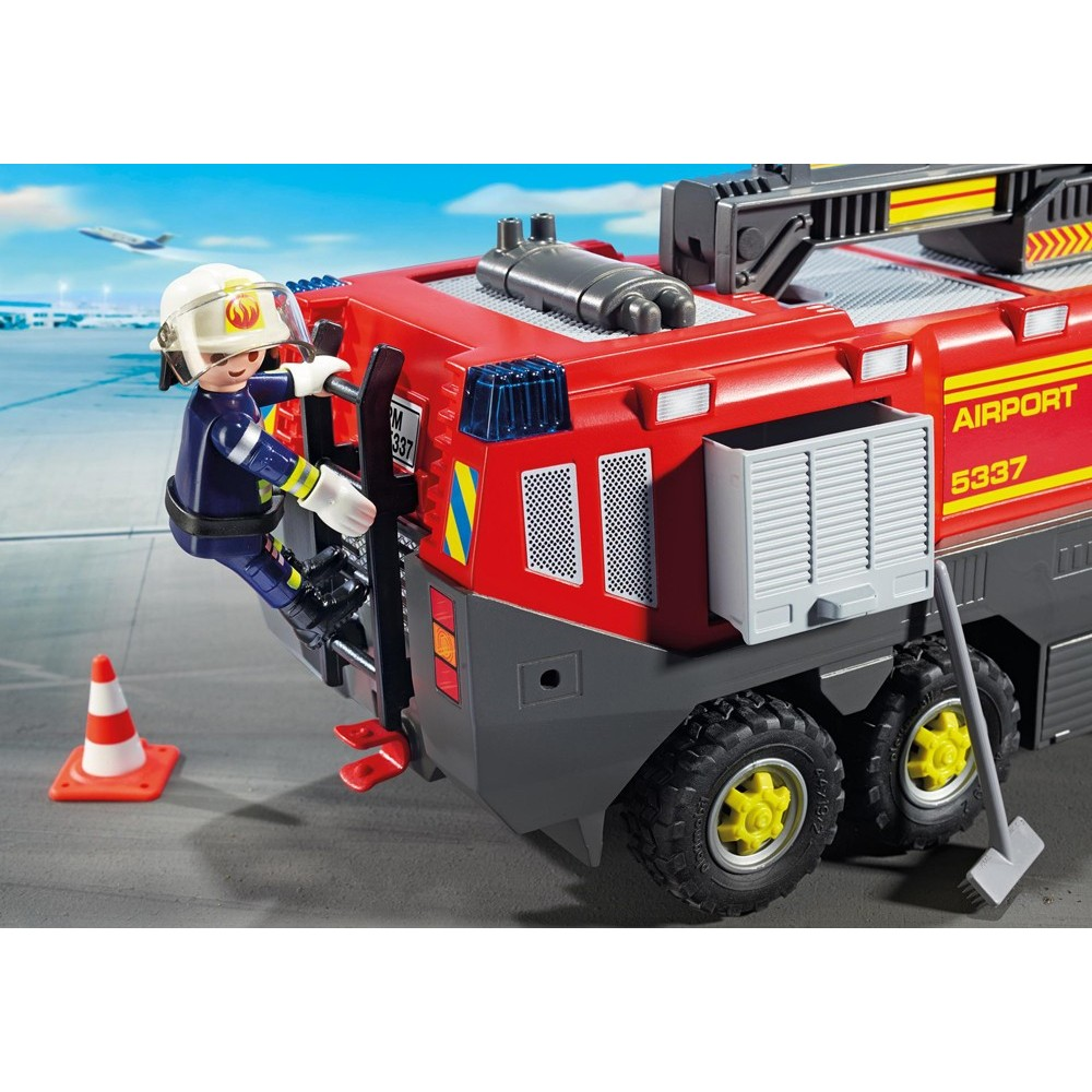 5337 feux et sir ne playmobil camion de pompier a roport playmobileros tienda de. Black Bedroom Furniture Sets. Home Design Ideas