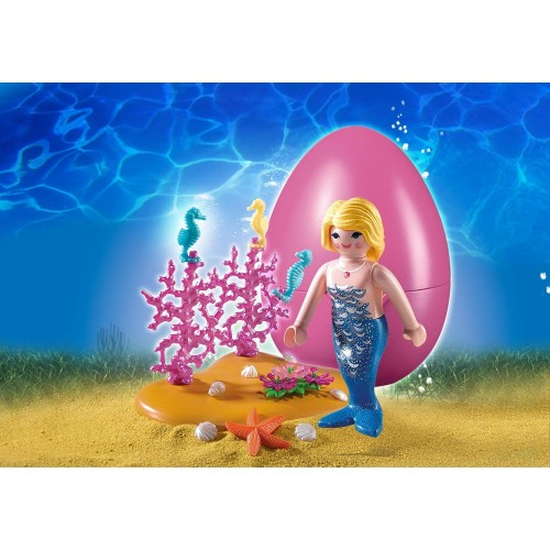 4946 sirène avec Caballito de Mar - Playmobil