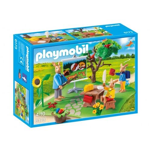 6173 - Escuela Conejos de Pascua - Playmobil