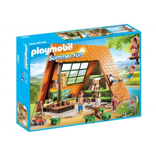 6887 camp holiday house - Playmobil