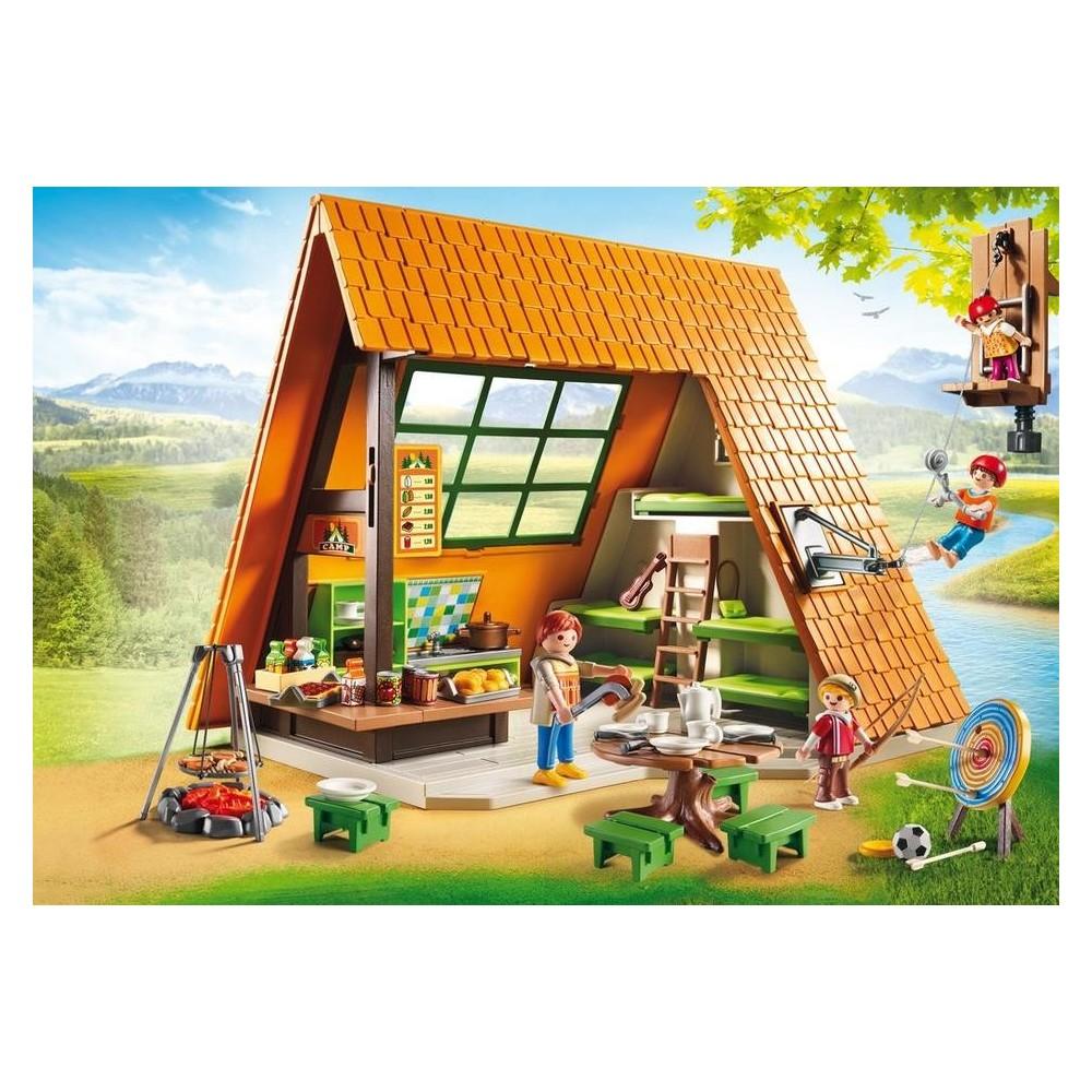6887 casa campamento de vacaciones playmobil - Vacaciones en casa ...
