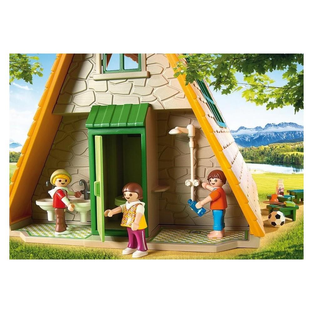 6887 casa campamento de vacaciones playmobil - Cambio de casa para vacaciones ...