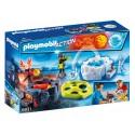 6831 battaglia ghiaccio e del fuoco - Playmobil