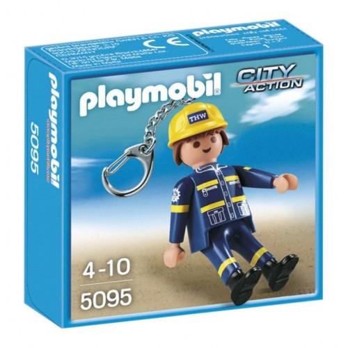 5095 worker THW operator 2015 - Playmobil