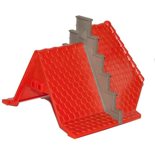 7107180 red roof system X - Medieval Playmobil