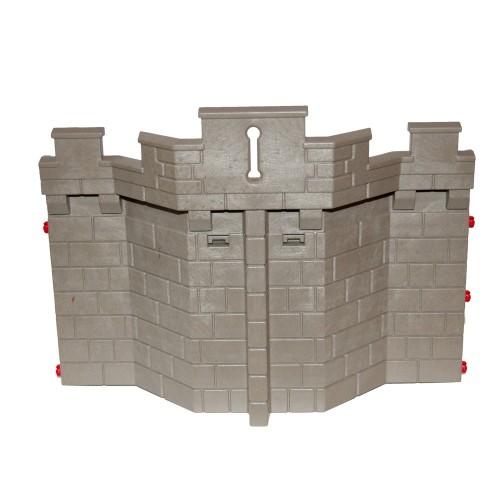 Parete con i castelli medievali di suolo Steck - 71082302 - - Playmobil