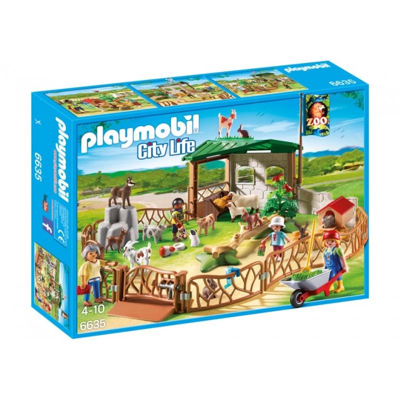 6635 - Zoo de Mascotas para Niños - Playmobil