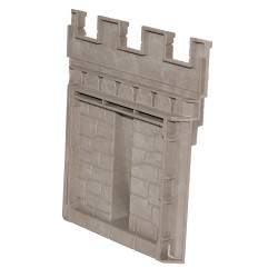 Parete del castello con i castelli medievali di rinforzo - 3255270 - - Playmobil