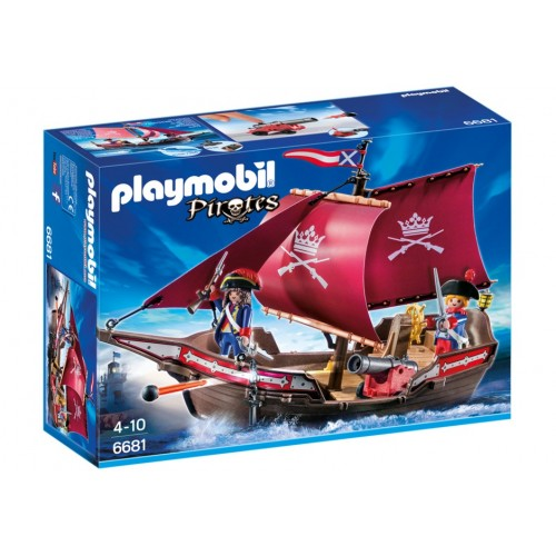 6681 boat patrol of soldiers - Playmobil