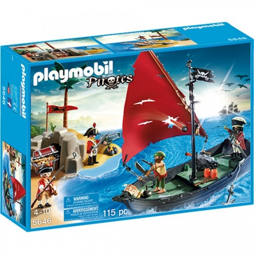 5646 - Battle in the treasure island - Playmobil