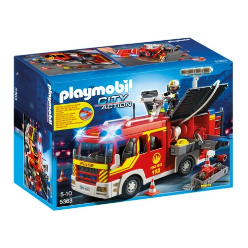 5363 firetruck with lights and sound