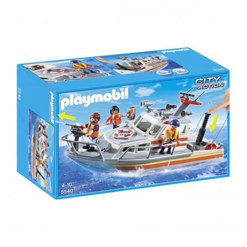 5540 - Barco de Rescate con Manguera - Playmobil