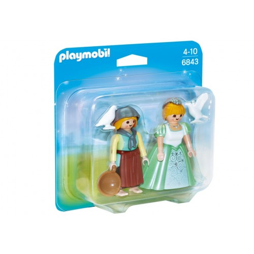 6843 Pack Duo Princess and Maid - Playmobil