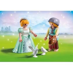 6843 - Pack Dúo Princesa y Criada - Playmobil