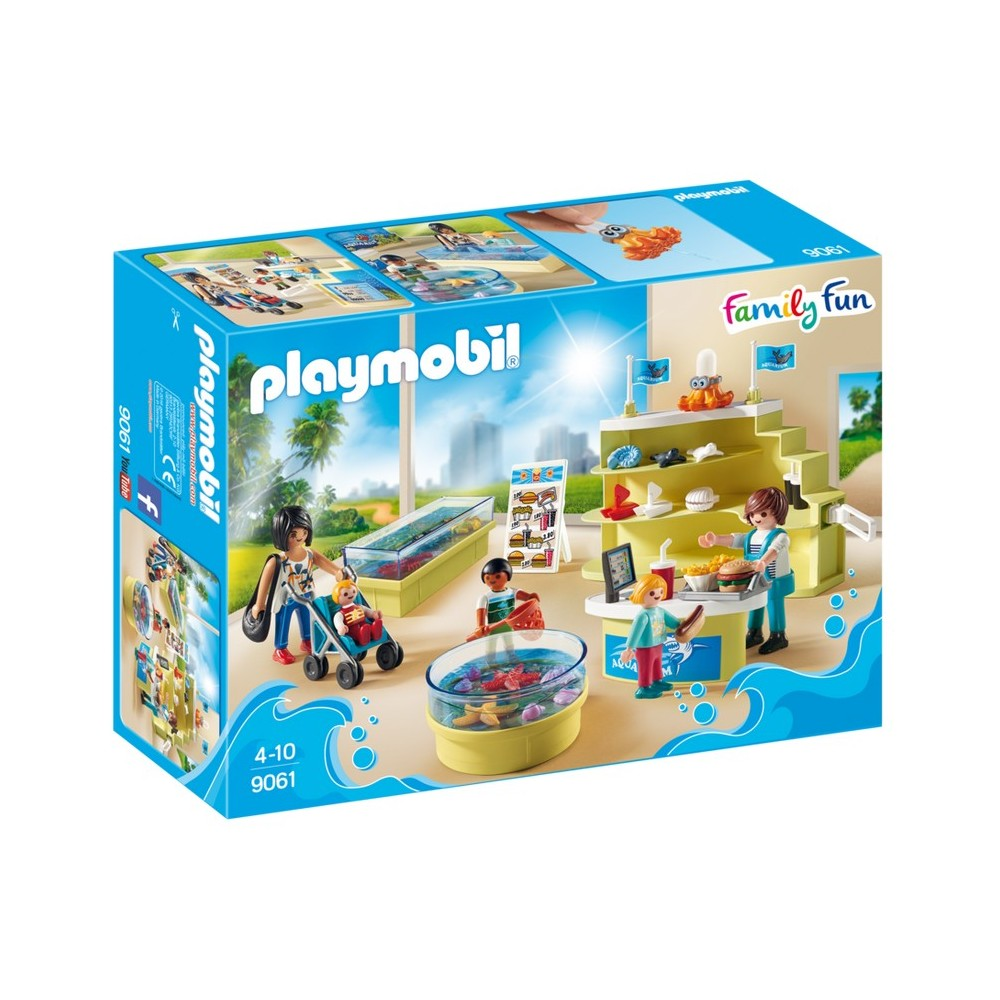 book 9061 shop of the aquarium new playmobil 2017 playmobileros tienda de playmobil nuevo. Black Bedroom Furniture Sets. Home Design Ideas