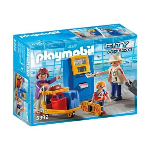 5399 famiglia Check-In aeroporto - Playmobil
