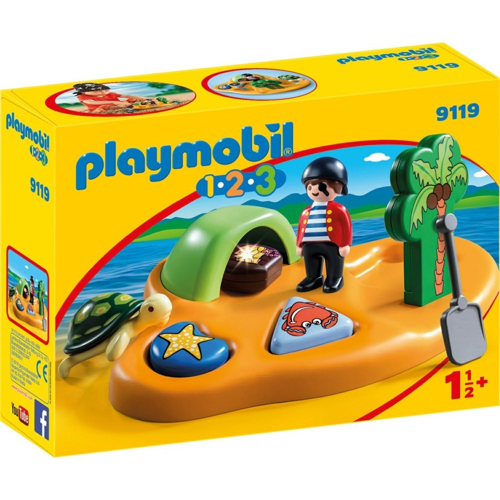 reserve 9119 pirate island 1 2 3 new playmobil 2017 playmobileros tienda de playmobil. Black Bedroom Furniture Sets. Home Design Ideas