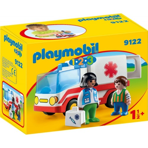 Reserve * 9122 - ambulance 1.2.3 - novelty Playmobil 2017