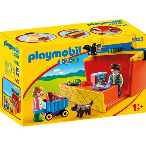 Reserve * 9123 - Briefcase sale post 1.2.3 - novelty Playmobil 2017