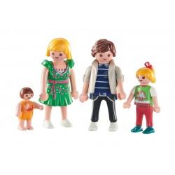 6530 - Familia con Niños - Playmobil