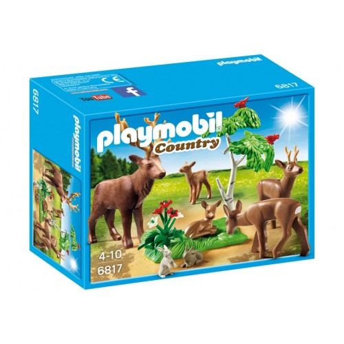6817 famiglia di cervi - Playmobil