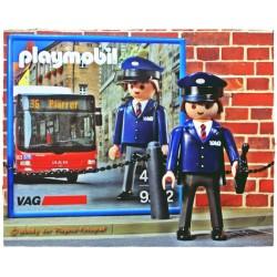 9232 - Conductor Autobuses VAG Exclusivo Alemania - Playmobil - Nuremberg Nürnberg