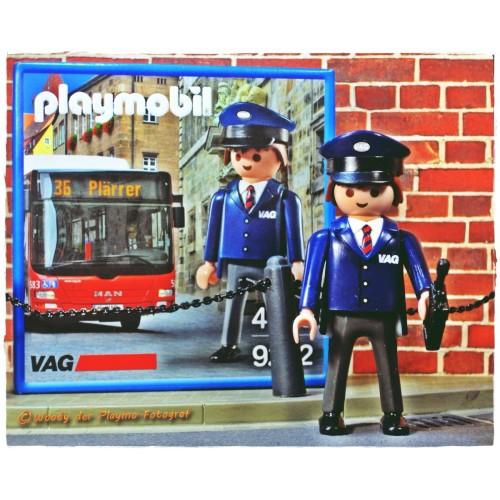 9232. pilote bus VÄG exclusif Allemagne - Playmobil - Nuremberg Nuremberg