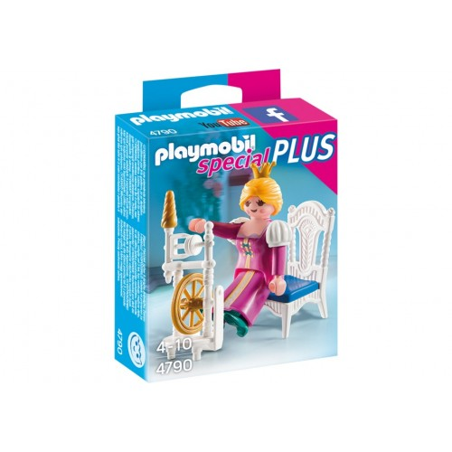 4790 - Princesa con Rueda de Hilar - Playmobil