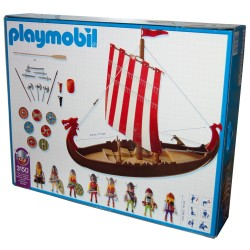 3150 Viking ship - Playmobil - new - OVP - NEW